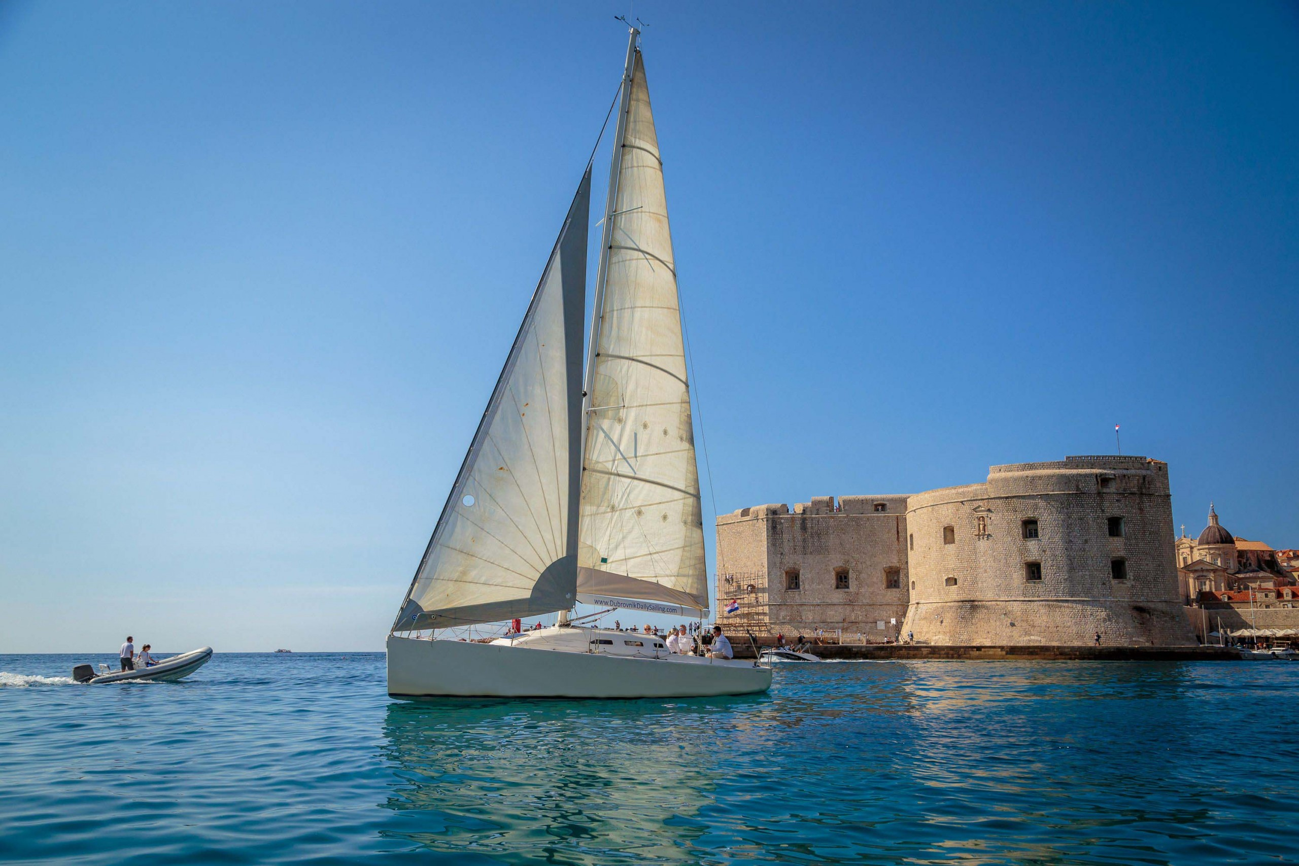 Old Town Dubrovnik private trip on sailboat