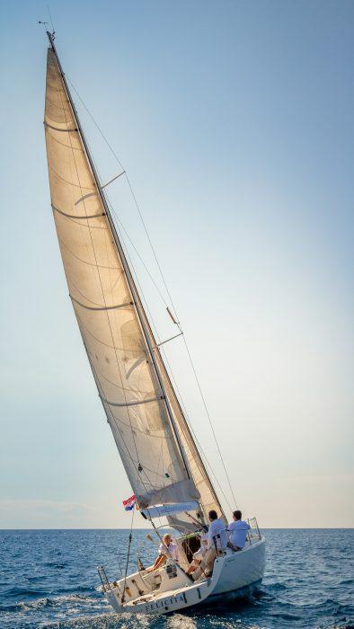 Sailing to Elafiti islands